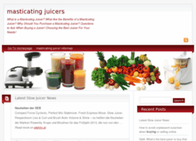 masticating-juicers.net