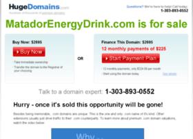 matadorenergydrink.com