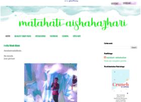 matahati-aishahazhari.blogspot.com