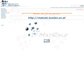 matcalc.wkmp.tuwien.ac.at