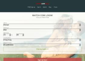 matchcomlogin.com