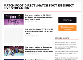 matchfootdirect.com