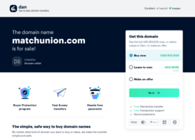 matchunion.com