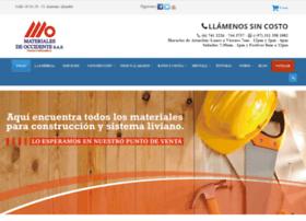 materialesdeoccidente.com