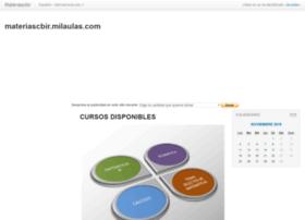 materiascbir.milaulas.com