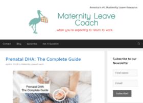 maternityleavecoach.com