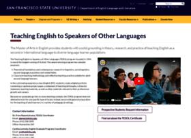 matesol.sfsu.edu