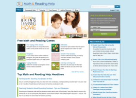 Math-and-reading-help-for-kids.org
