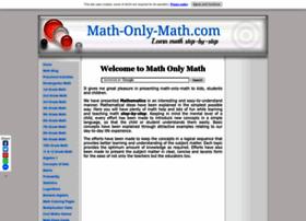 math-only-math.com