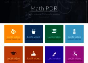 math-pdr.com