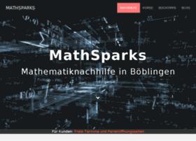 math-sparks.info