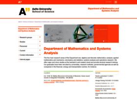math.aalto.fi