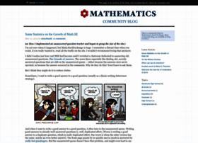 math.blogoverflow.com