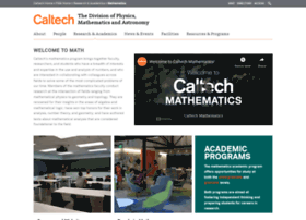 math.caltech.edu