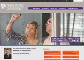math.clemson.edu