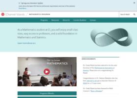 math.csuci.edu