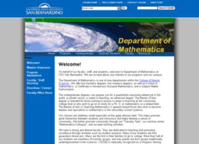 math.csusb.edu