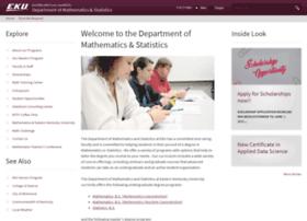math.eku.edu