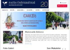 math.fatih.edu.tr