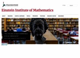 math.huji.ac.il