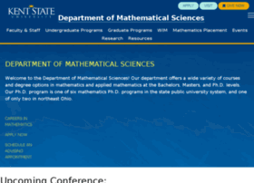 math.kent.edu