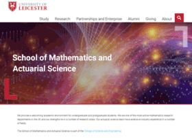 math.le.ac.uk