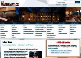 math.mit.edu