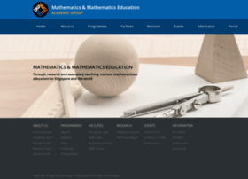 math.nie.edu.sg