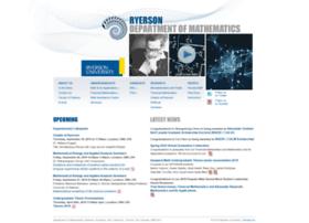 math.ryerson.ca