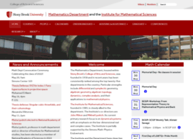 math.stonybrook.edu