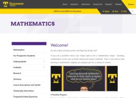 math.tntech.edu