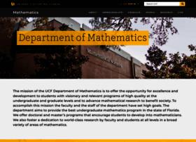 math.ucf.edu