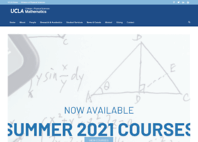 Math.ucla.edu