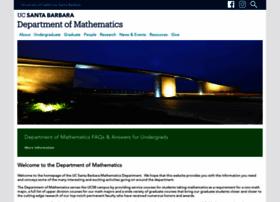 math.ucsb.edu