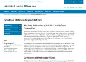 math.uhcl.edu