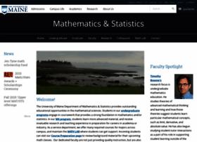 math.umaine.edu