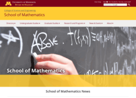 math.umn.edu