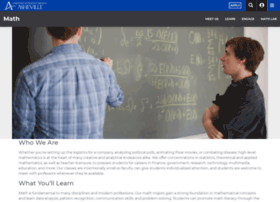 math.unca.edu