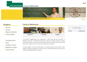 math.uni-bielefeld.de