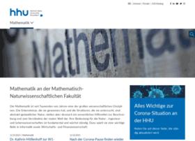 math.uni-duesseldorf.de