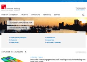 math.uni-hamburg.de