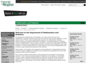 math.uregina.ca