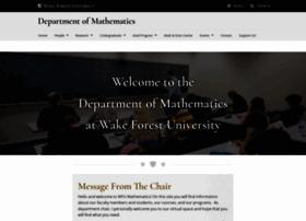 math.wfu.edu