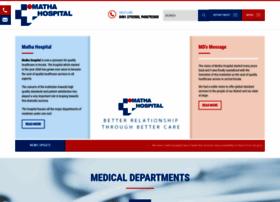 mathahospital.org