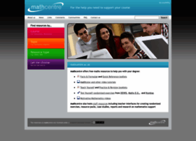 mathcentre.ac.uk