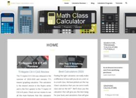 mathclasscalculator.com