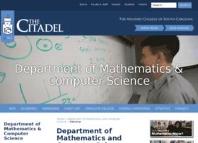 mathcs.citadel.edu