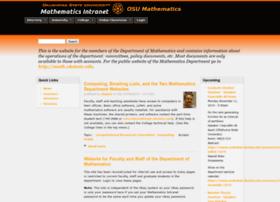 mathdept.okstate.edu