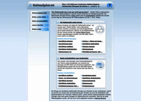 matheaufgaben.net