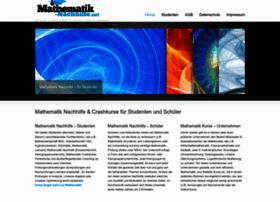 mathematik-nachhilfe.net